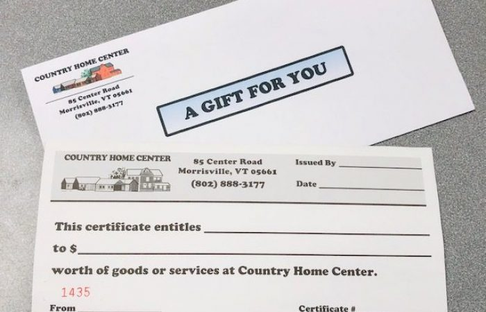 Country Home Center Gift Cards