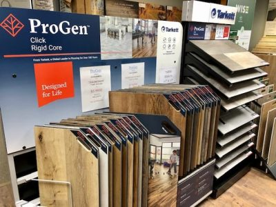 progen flooring display