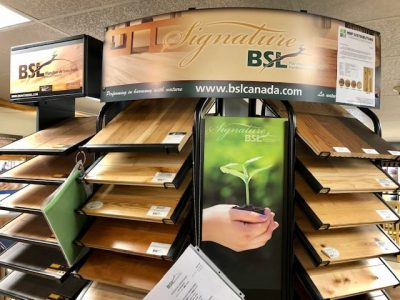 bsl flooring display