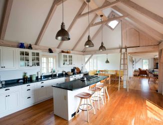 new england kitchen interior design